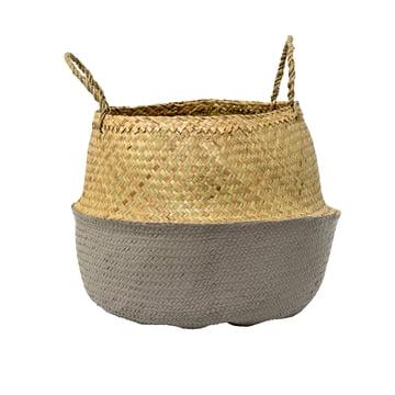 Bloomingville - Seagrass basket, grey