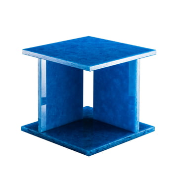 Pulpo - Font Table Low H 36.2 cm by Pulpo in Ocean Blue