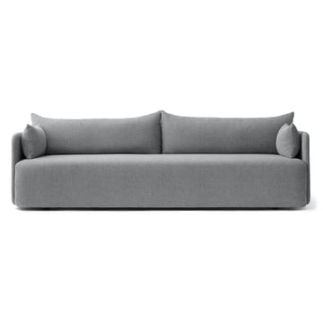 The Menu - Offset Sofa, 3 Seater in Light Grey (Hallingdal 130)
