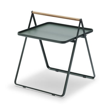 By Your Side Tray Table by Skagerak in Hunter Green