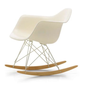 Vitra - Eames Plastic Armchair RAR, yellowish maple / ivory, cream seat (limited edition)
