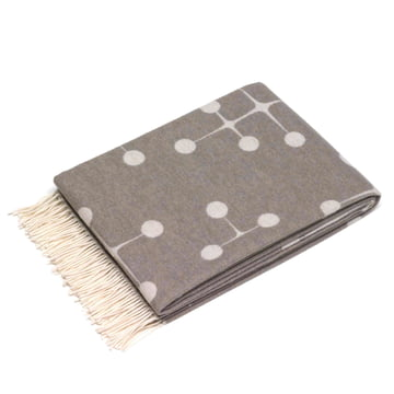 Vitra - Eames Wool Blanket, Dot, taupe