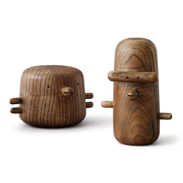 Normann Copenhagen - San and Ichi Wooden Birds