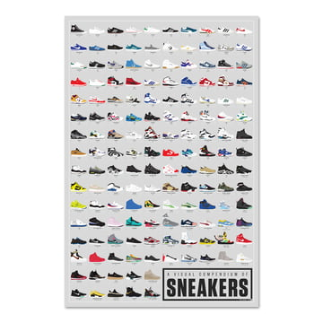 A Visual Compendium of Sneakers by Pop Chart Lab
