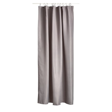 The Zone Denmark - Lux Shower Curtain in Grey