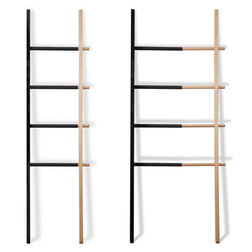 Umbra - Hub Ladder Rack, Black / Natural - Expandable