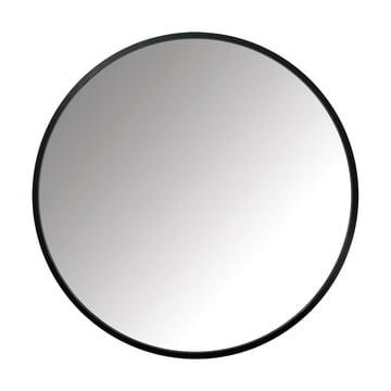 The Umbra - Hub Mirror Ø 91.4 cm in black