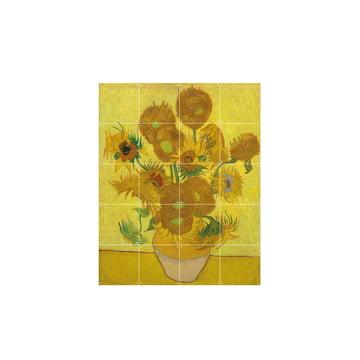 Sunflowers (Van Gogh), 80 x 100 cm by IXXI
