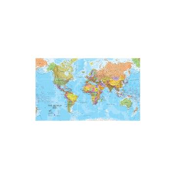 The World (Political), 100 x 60 cm by IXXI