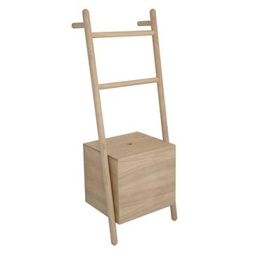 The Kommod - Lokks Ladder Shelf in Oak
