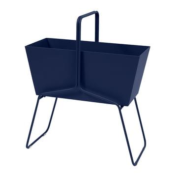 Fermob - Basket Flower Box High in abyss blue