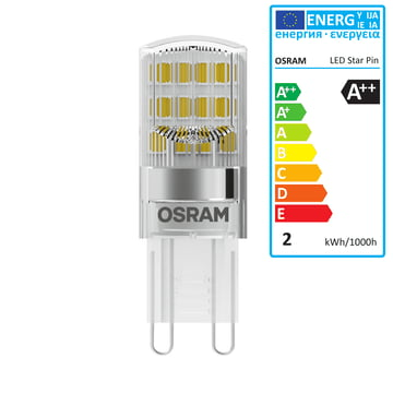 led star pin g9 12v by osram connox. Black Bedroom Furniture Sets. Home Design Ideas