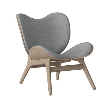 Vita - A Conversation Piece Armchair, natural oak / silver grey