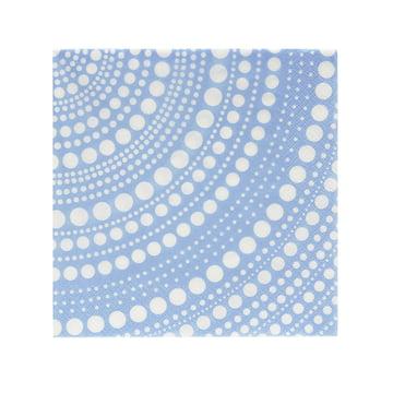 Kastehelmi Paper Napkins 33 x 33 cm by Iittala in Aqua