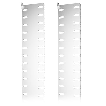 Side panel 50 x 20 cm (pack of 2) in clear