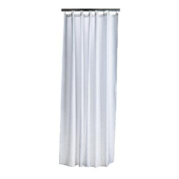 Zone Denmark - Drops Shower Curtain, Cream / White