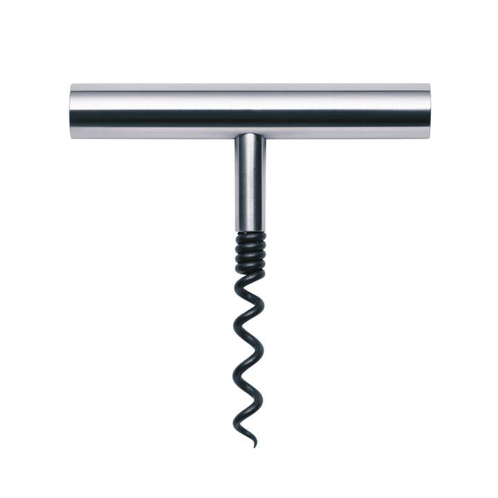 Stainless steel corkscrew from Stelton