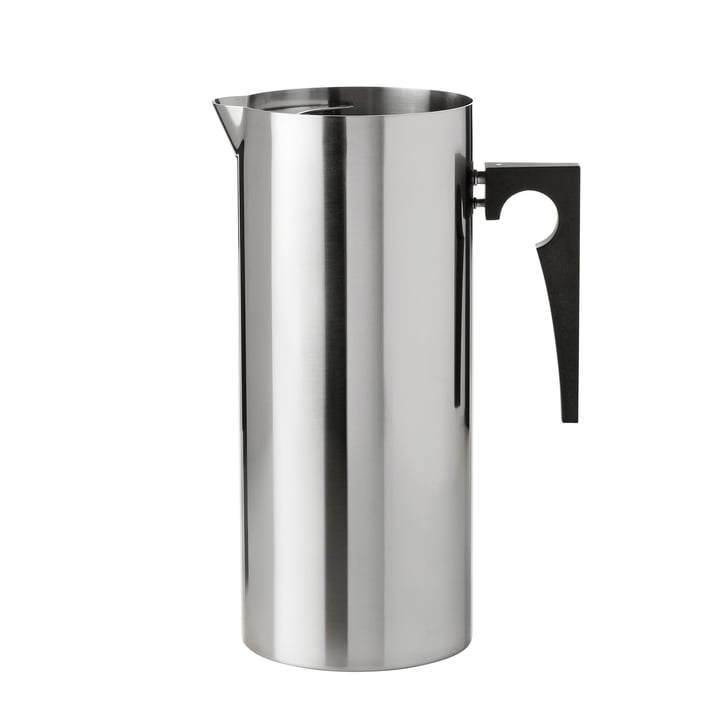 Stelton - Cylinda-Line jug with ice stopper