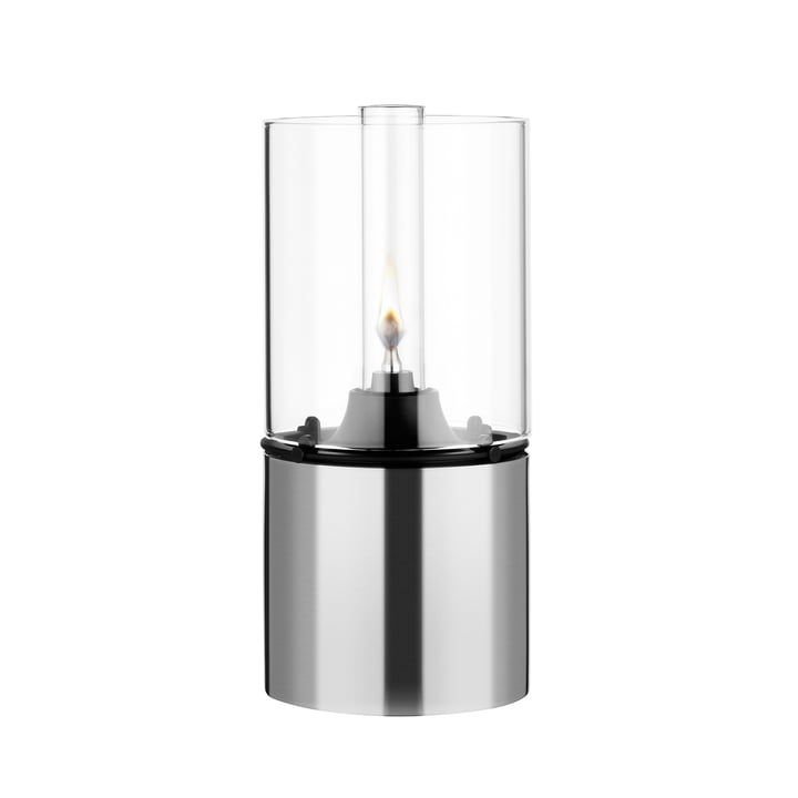 Stelton - Oil Lamp 1005 with Glass Shade, clear
