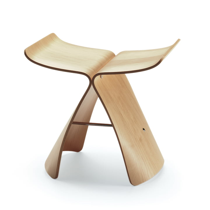 Vitra Butterfly Stool, maple