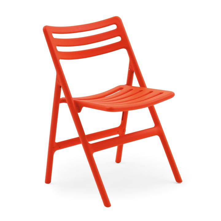 Folding Air-Chair folding chair by Magis in orange