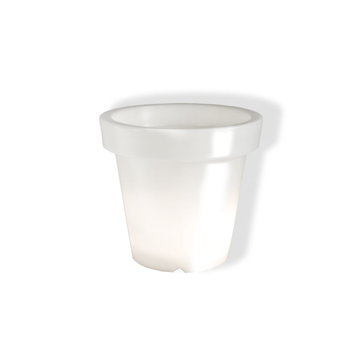 Bloom Pot, without lighting - white