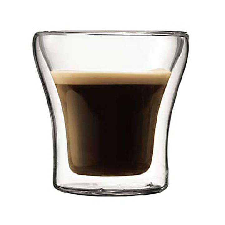 Bodum Assam, double-walled glass 0.9 dl