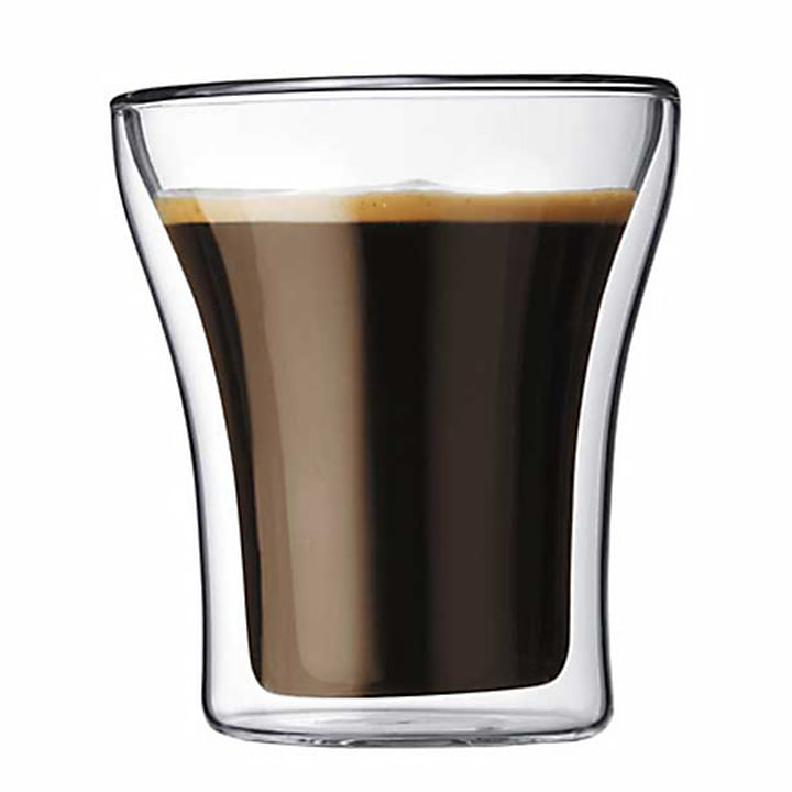Bodum Assam, double-walled glass 2.2 dl