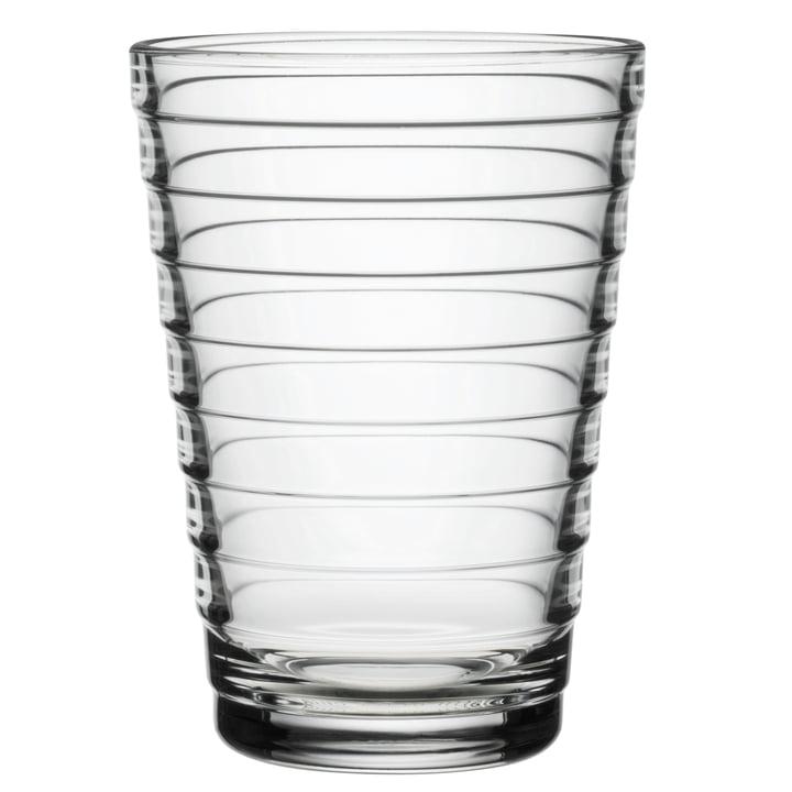 Aino Aalto Longdrink glass 33 cl from Iittala in clear