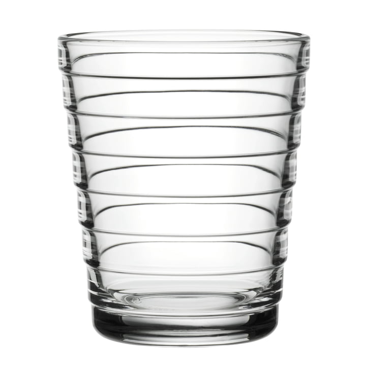 Aino Aalto glass beaker 22 cl from Iittala in clear