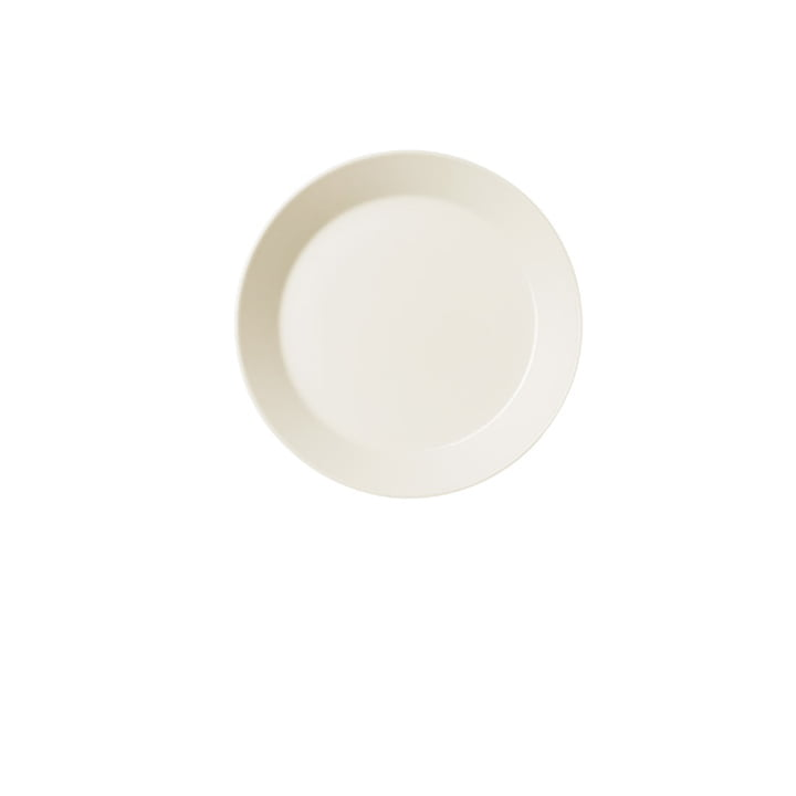 Teema Flat Plate Ø 21 cm by Iittala in White