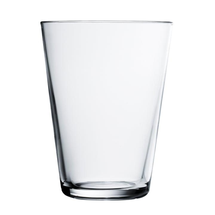 Iittala - Drinking Kartio glass 40 cl, clear