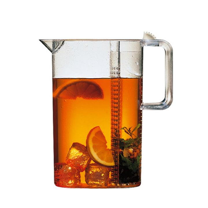 Bodum CEYLON Iced Tea Jug with filter - transparent