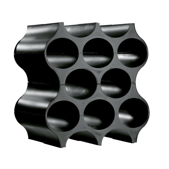 Wine Rack Set Up - solid black
