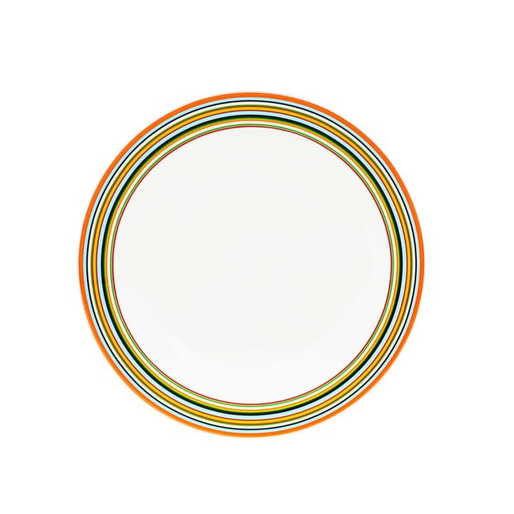Origo, plate, Ø 26 cm, orange