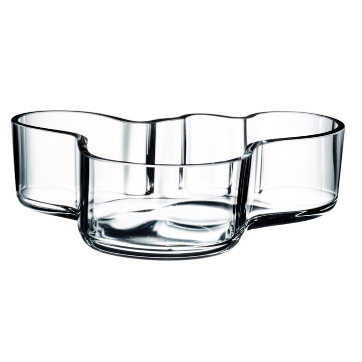 Aalto Bowl 50 x 195 mm from Iittala in Clear