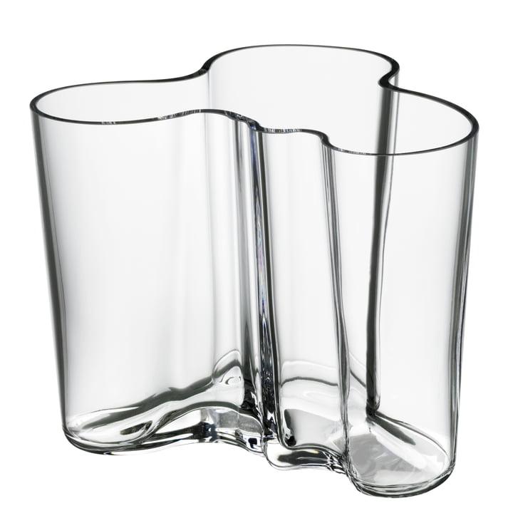 Aalto Vase Savoy, klar 120mm
