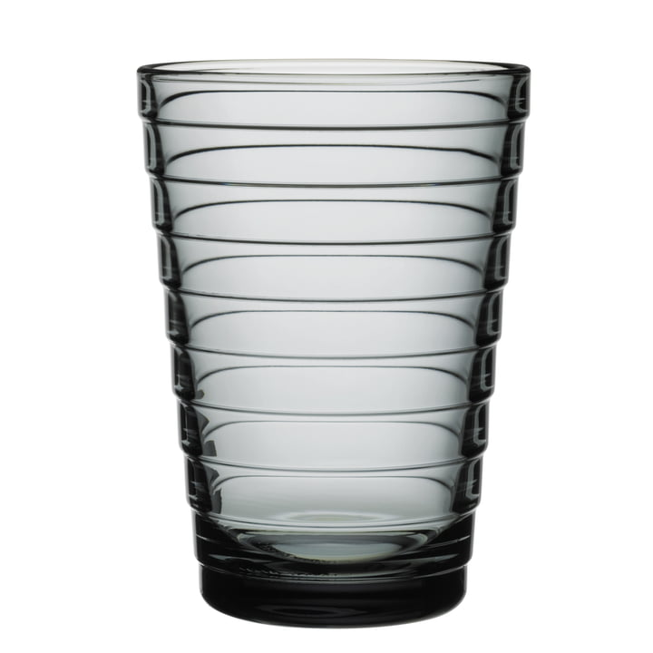 Aino Aalto long drink glass 33 cl from Iittala in grey
