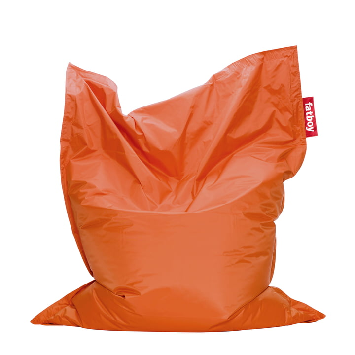 "fatboy ""original""- beanbag, orange"