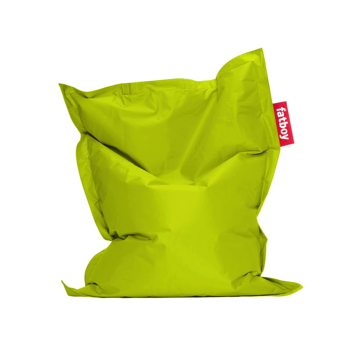 Junior beanbag by Fatboy in lime