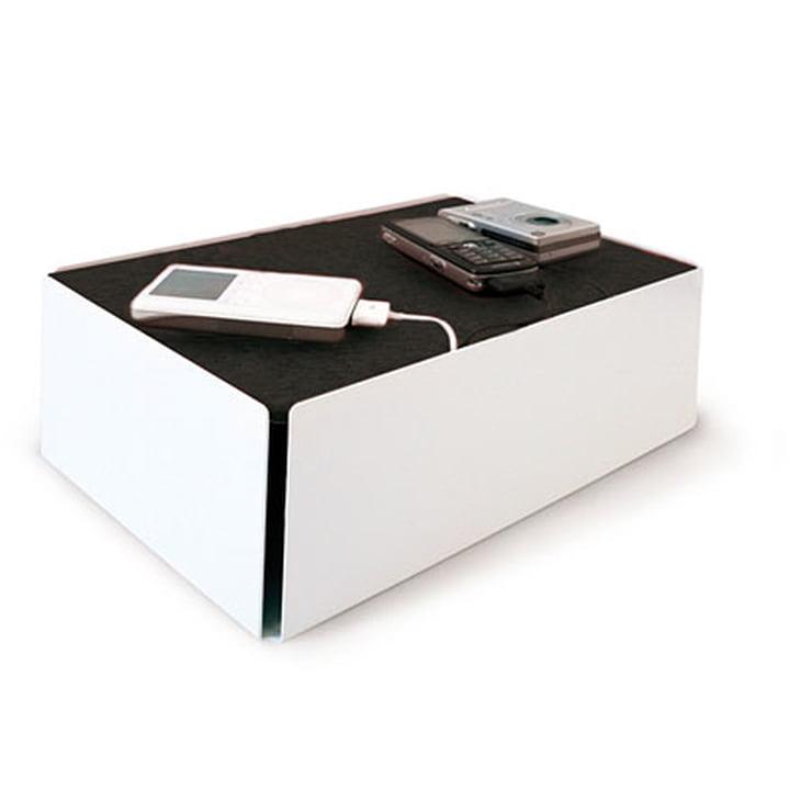 Charge-Box - weiß / schwarz