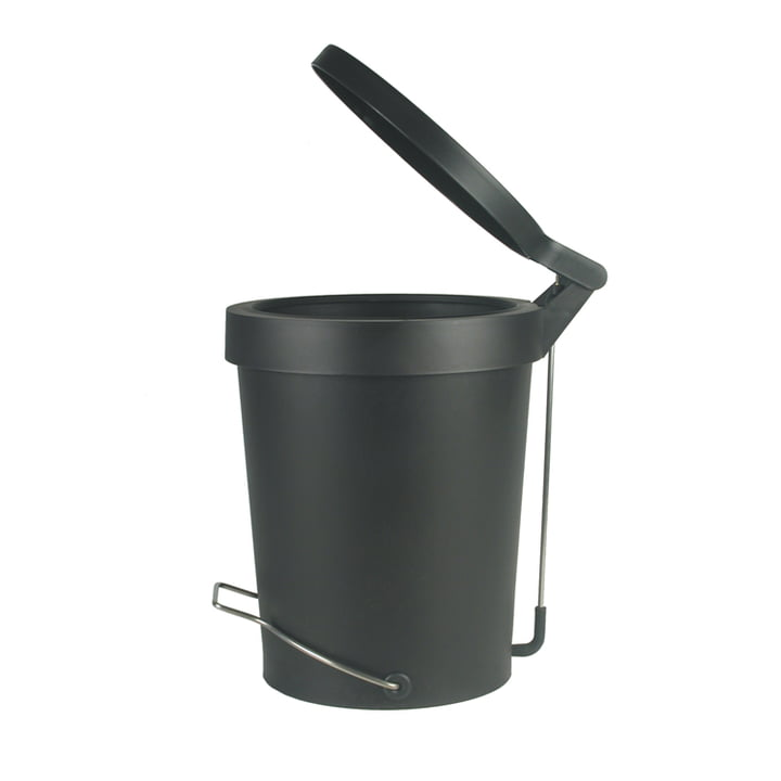 Tip pedal bin ø 22 cm by Authentics in black