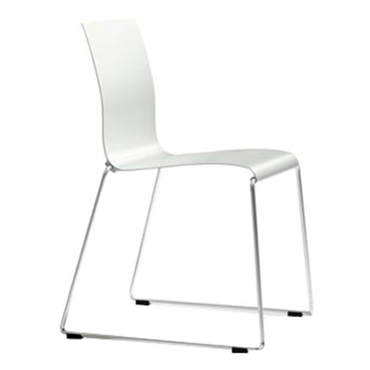 Sting 030 - seat shell aluminium, natural silver anodised