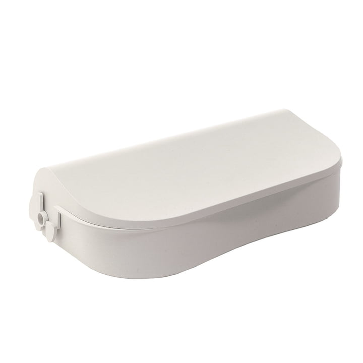 Danese Flores, desk storage containers white