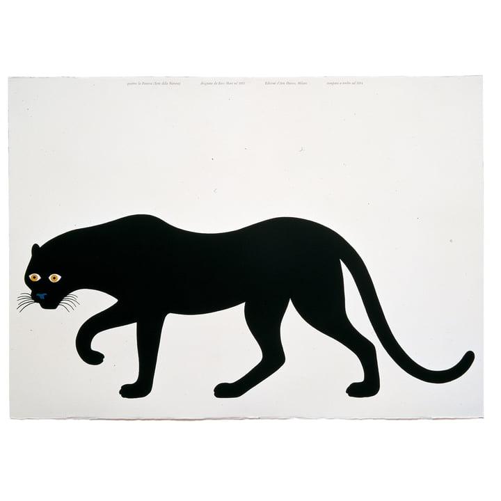 "Danese graphic art ""Quattro, la pantera"""