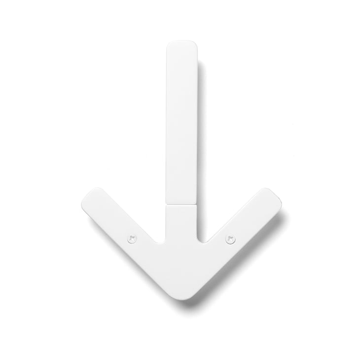 Arrow Hanger Wall Hanger, white
