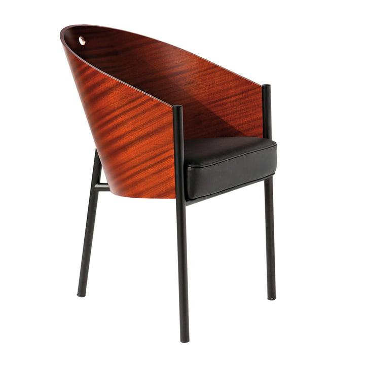Costes Armchair Driade in mahogany
