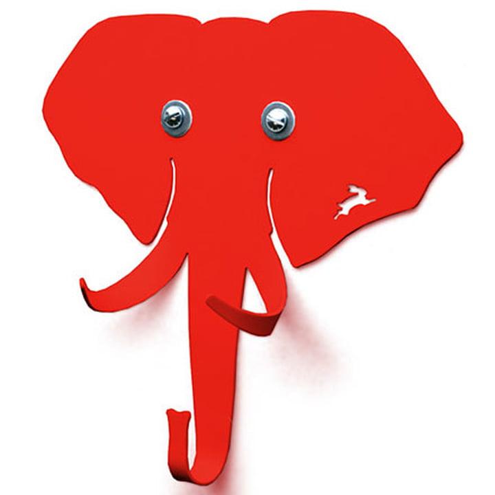 Haseform Animal Wardrobe Elephant red