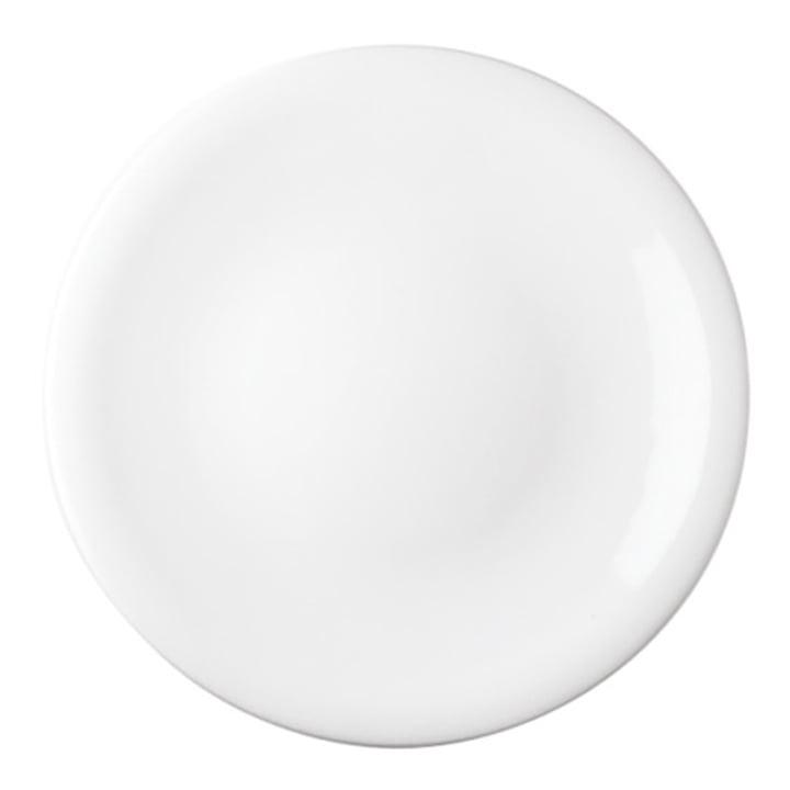 Update - dinner plate, white
