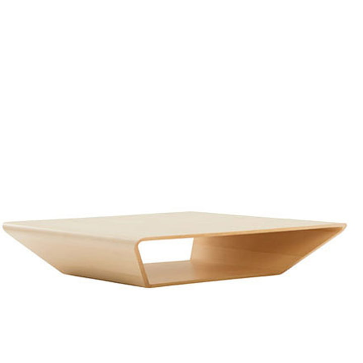 Swedese Brasilia Table 100x100 cm - birch wood, natural lacquer